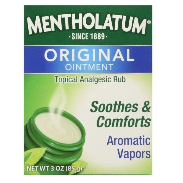 Mentholatum 3-ounce Ointment