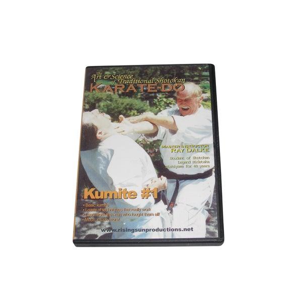 Nishiyama Shotokan Karate Kumite Fighting Sparring #1 DVD Ray Dalke secrets jka 16623193