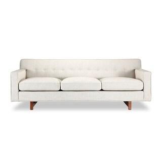 Kennedy Mid-century Modern Classic Sofa Urban Hemp Vintage Twill