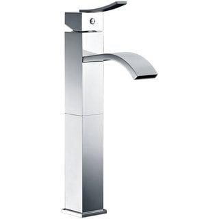 Dawn Chrome Single-lever Square Tall Lavatory Faucet