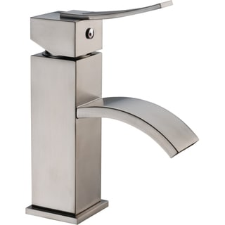 Dawn Brushed Nickel Single-lever Square Lavatory Faucet