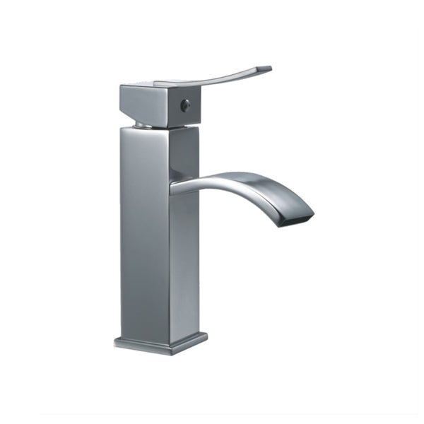 Dawn Chrome Single-lever Square Lavatory Faucet