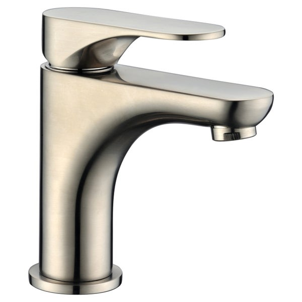 Dawn Single-Lever Flat Brushed Nickel Lavatory Faucet