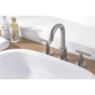 Dawn Chrome 3-hole 2-handle Widespread Lavatory Faucet