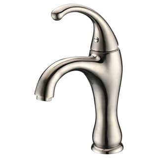Dawn Single-Lever Curved Styling Brushed Nickel Lavatory Faucet