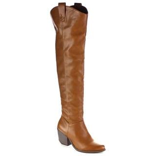 MI.IM Women's Victoria-02 Western Style Over-the-Knee Boots