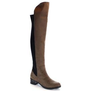 MI.IM Women's 'Scarlet-01' Stretch Side Zip Over-The-Knee Boots
