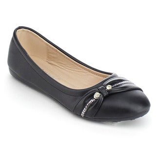VIA PINKY ARIA-08F Children Girl Casual Ballet Flat Shoes