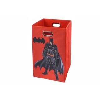 Batman Red Folding Laundry Basket