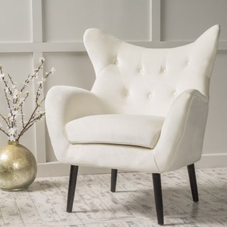 Christopher Knight Home Alyssa Velvet Arm Chair