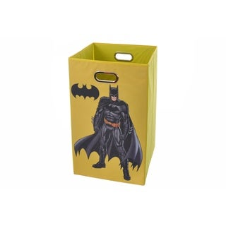 Batman Yellow Folding Laundry Basket