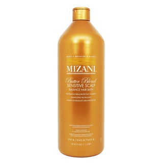 Mizani Butter Blend Sensitive Scalp Balance Hair Bath Neutralizing & Chelating 33.8-ounce Shampoo