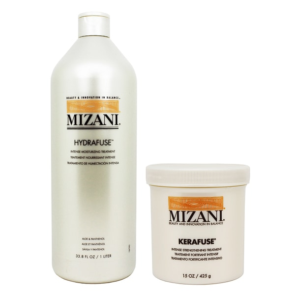 Mizani Hydrafuse Intensive Moisturizing Treatment and Kerafuse Intensive Protein Treatment Set