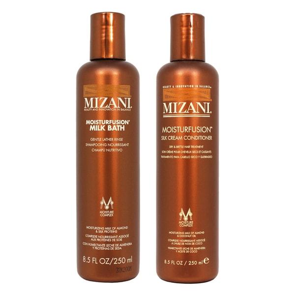 Mizani Moisturfusion Milk Bath Shampoo & Silk Cream Conditioner Set