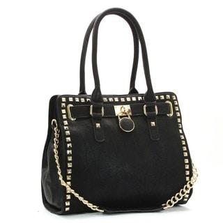 Royal Lizzy Promesse Macdaillon Shoulder Tote Handbag