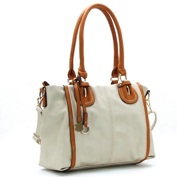 Royal Lizzy Couture Bravo Shoulder Tote Handbag