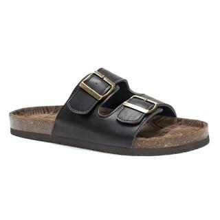 Muk Luks Men's Black Parker Sandals
