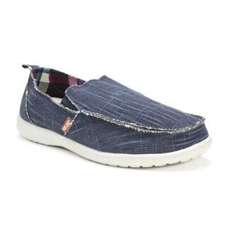 Muk Luks Men's Blue Andy Shoes