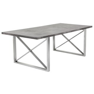Sunpan 'MIXT' Catalan Dining Table - Concrete
