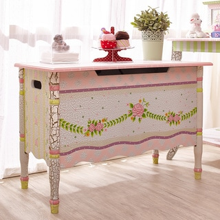 Fantasy Fields - Crackled Rose Toy Chest