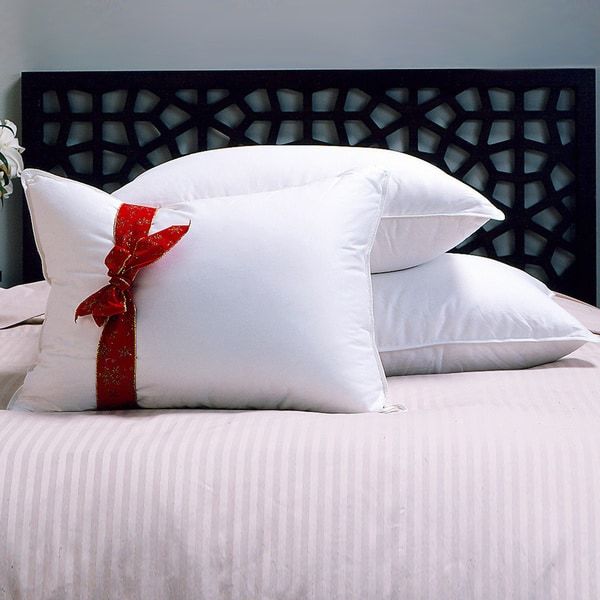 Hotel Grand Naples 700 Thread Count Siberian White Down Pillow (As Is Item)