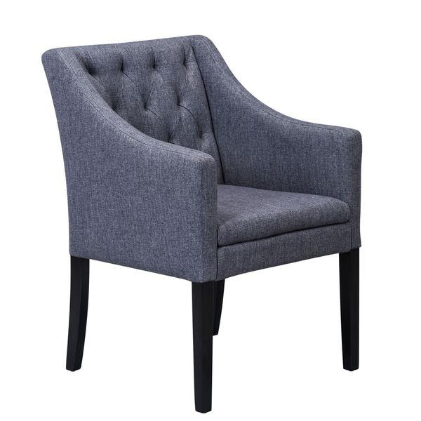 SB Sunpan Venus Dining Chair - Alderley Charcoal Fabric
