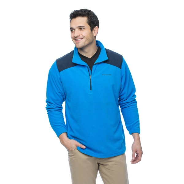Columbia Men's Grid Line 1/2 Zip Fleece