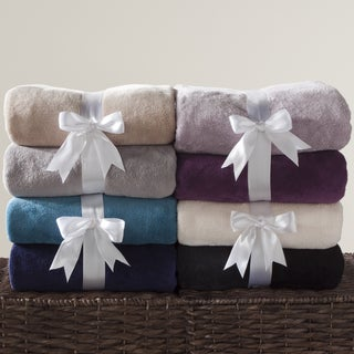 50 x 70-inch Fleece Throw (Set of 2)