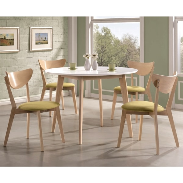 Peony Retro Danish Design 5-piece Dining Set