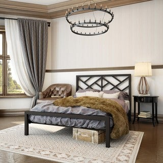 """Amisco Windmill Full Size Metal Bed 54"""""""