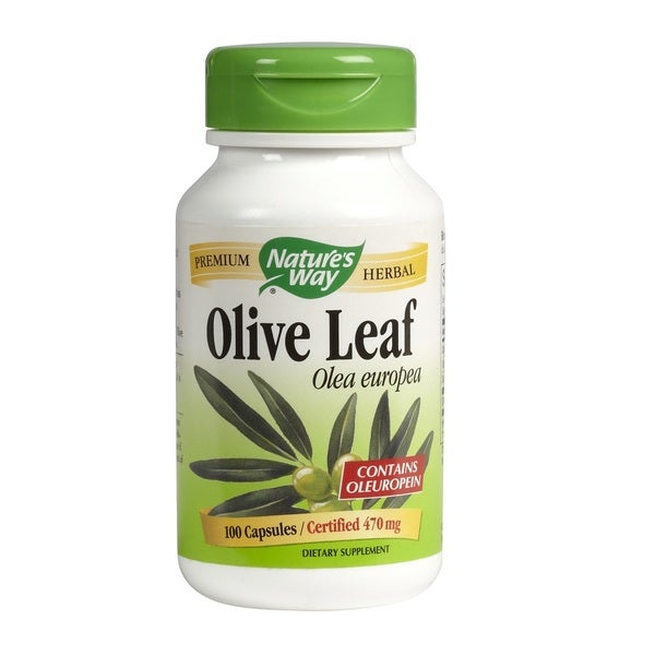 Nature's Way Premium Herbal Olive Leaf (100 Capsules)
