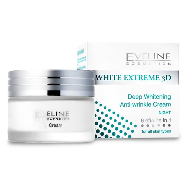 Eveline White Extreme 3D Deep Anti-Wrinkle Night Cream 50Ml