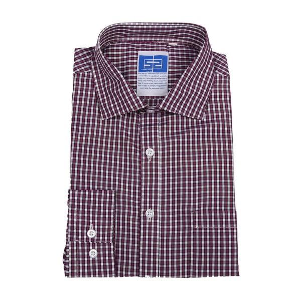 Complicated Shirts Men's Purple Check Shirt