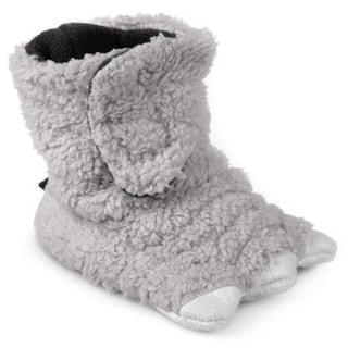Journee Kid's Monster Foot Bootie Slippers