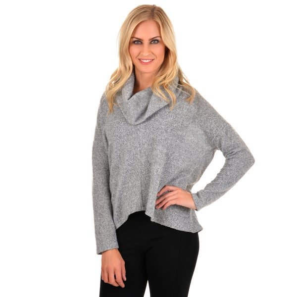 Journee Collection Women's Long Sleeve Cowl Neck Sweater