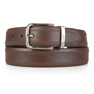 Nautica Men's Genuine Leather Reversible Belt