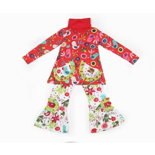 Jelly the Pug Jelly the Pug Christmas Day Lexi Knit Set