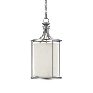 Capital Lighting Midtown Collection 2-light Matte Nickel Foyer Fixture