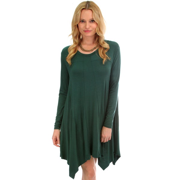 Flash A Smile Long Sleeve T-Shirt Dress