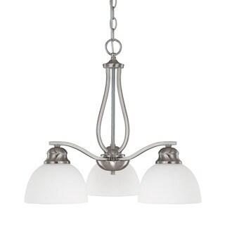Capital Lighting Stanton Collection 3-light Brushed Nickel Chandelier