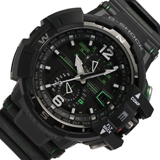 Casio G-Shock GWA1100-1A3 G-Aviation Watch - Black