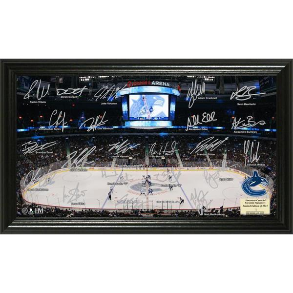 Vancouver Canucks Signature Rink 16655097