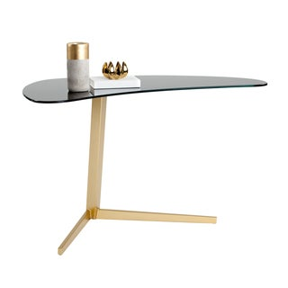 Sunpan 'Ikon' Campaign Writing Desk in Gold