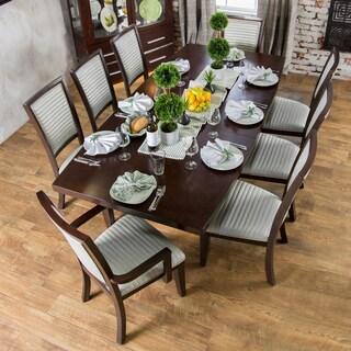 Furniture of America Lyzander Formal 9-piece Dining Set