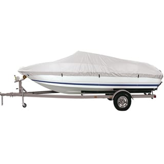 FH Group Silver Large 94-inch Premium Water-Proof Boat Cover