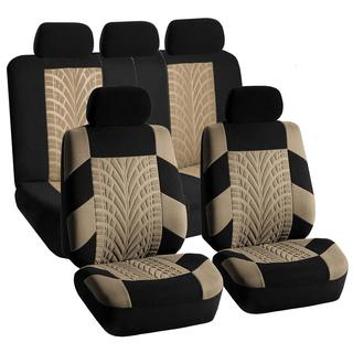 FH Group Beige and Black 'Travel Master' Car Seat Covers