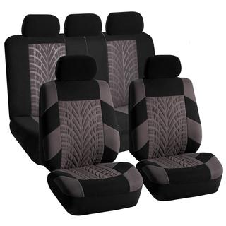 FH Group Gray and Black 'Travel Master' Car Seat Covers
