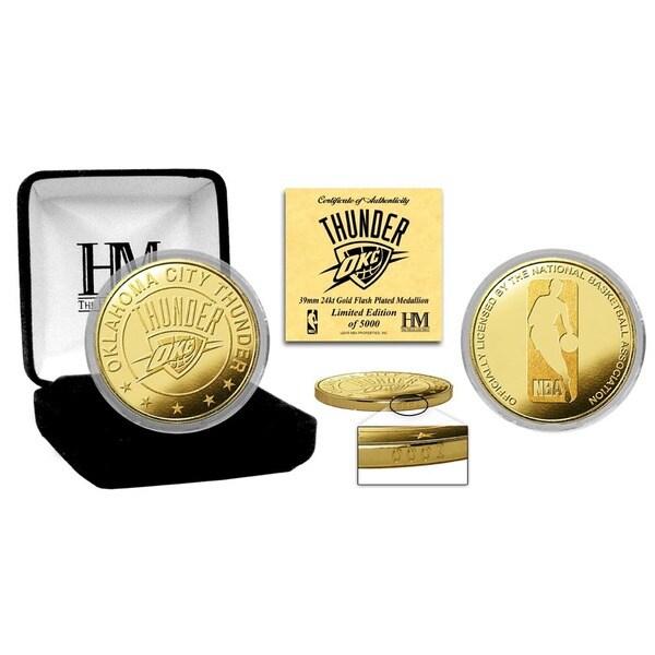 Oklahoma City Thunder Gold Mint Coin