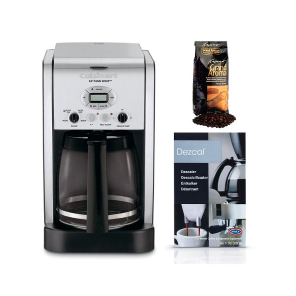 Cuisinart Coffee Maker Dcc 2650 : Cuisinart DCC-2650 Brew Central 12-Cup Programmable Coffeemaker Bundle - 17838253 - Overstock ...