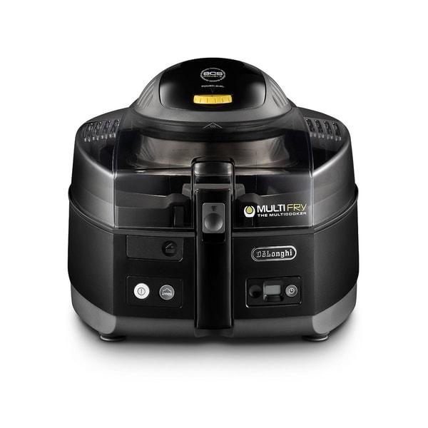 De'Longhi FH1163 Black MultiFry Low Oil Fryer and Multi Cooker